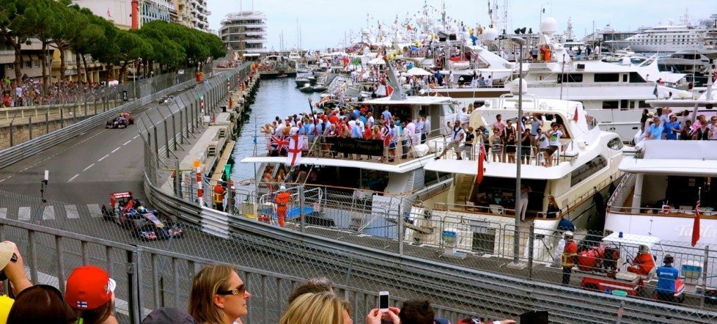 Postcards from Monaco Grand Prix